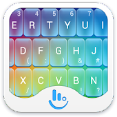 TouchPal Rainbow keyboard