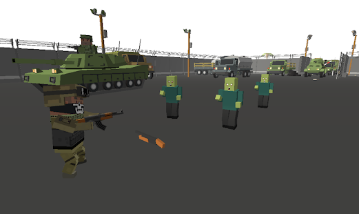 Commando Zombie Real War - screenshot