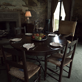 The Breakfast Nook  by Lorraine D.  Heaney - Buildings & Architecture Public & Historical