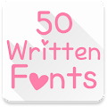 App Fonts for FlipFont 50 Written apk for kindle fire
