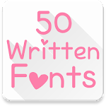 Fonts for FlipFont 50 Written 3.3.0 Apk