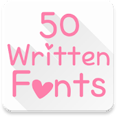 Fonts for FlipFont 50 Written APK for Bluestacks