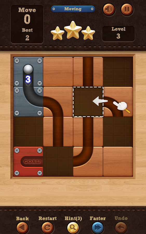 Roll the Ball™ - slide puzzle Screenshot 2