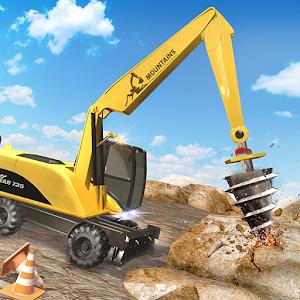 Heavy Bulldozer Crane Drill Stone For PC / Windows 7/8/10 / Mac – Free Download