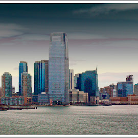 Lower Manhattan by Lillian Munsch - Buildings & Architecture Office Buildings & Hotels