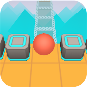 Scrolling Ball in Sky: casual rolling game the best app – Try on PC Now