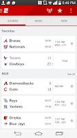 Screenshot of ESPN