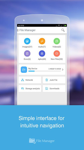CM FILE MANAGER screenshot 2