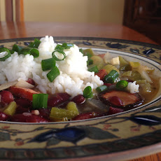 Louisiana Red Beans & Rice Stew