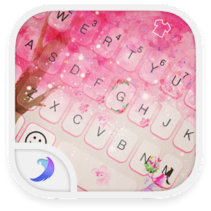 Emoji Keyboard-Love Tree