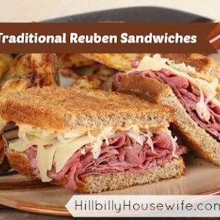 Reuben Sandwich On Pumpernickel Recipes