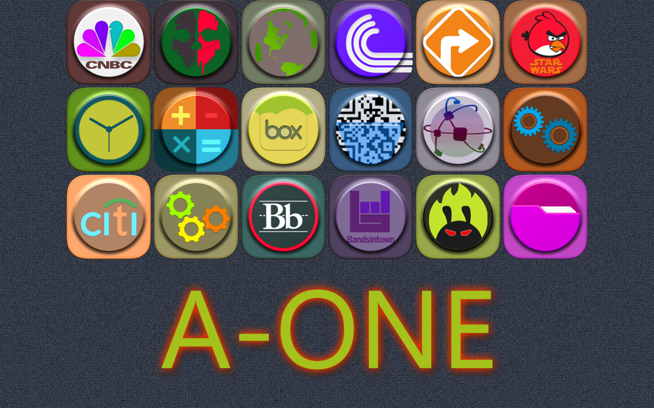 A-One icon pack Screenshot 5