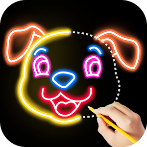 Draw Glow Animals Online PC (Windows / MAC)