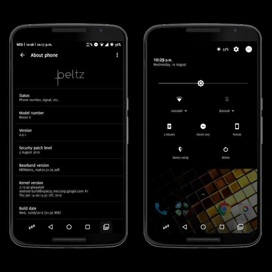 [Substratum] Beltz Theme Screenshot