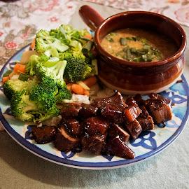 by Brook Kornegay - Food & Drink Plated Food