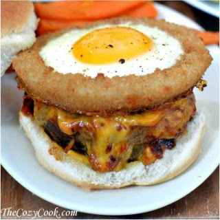 Onion Ring Bo Burger