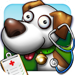Pet Farm Vet Doctor Icon