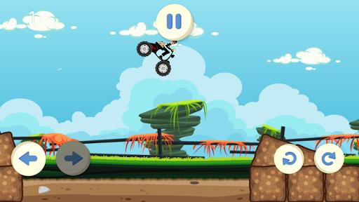 Monster Motorcycle Stunts - screenshot