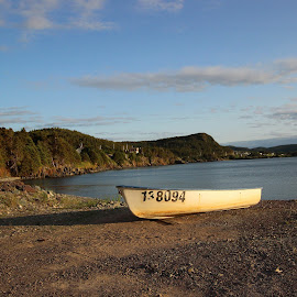Beautiful Platecove NL by Denise Keough-Lima - Landscapes Travel ( newfoundland, nature, boats, summer, landscapes, ocean view )
