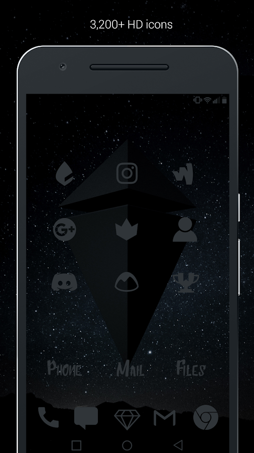 Murdered Out Pro - Dark Icons Screenshot 2