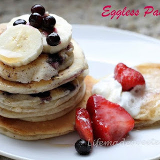 Best Eggless Pancakes