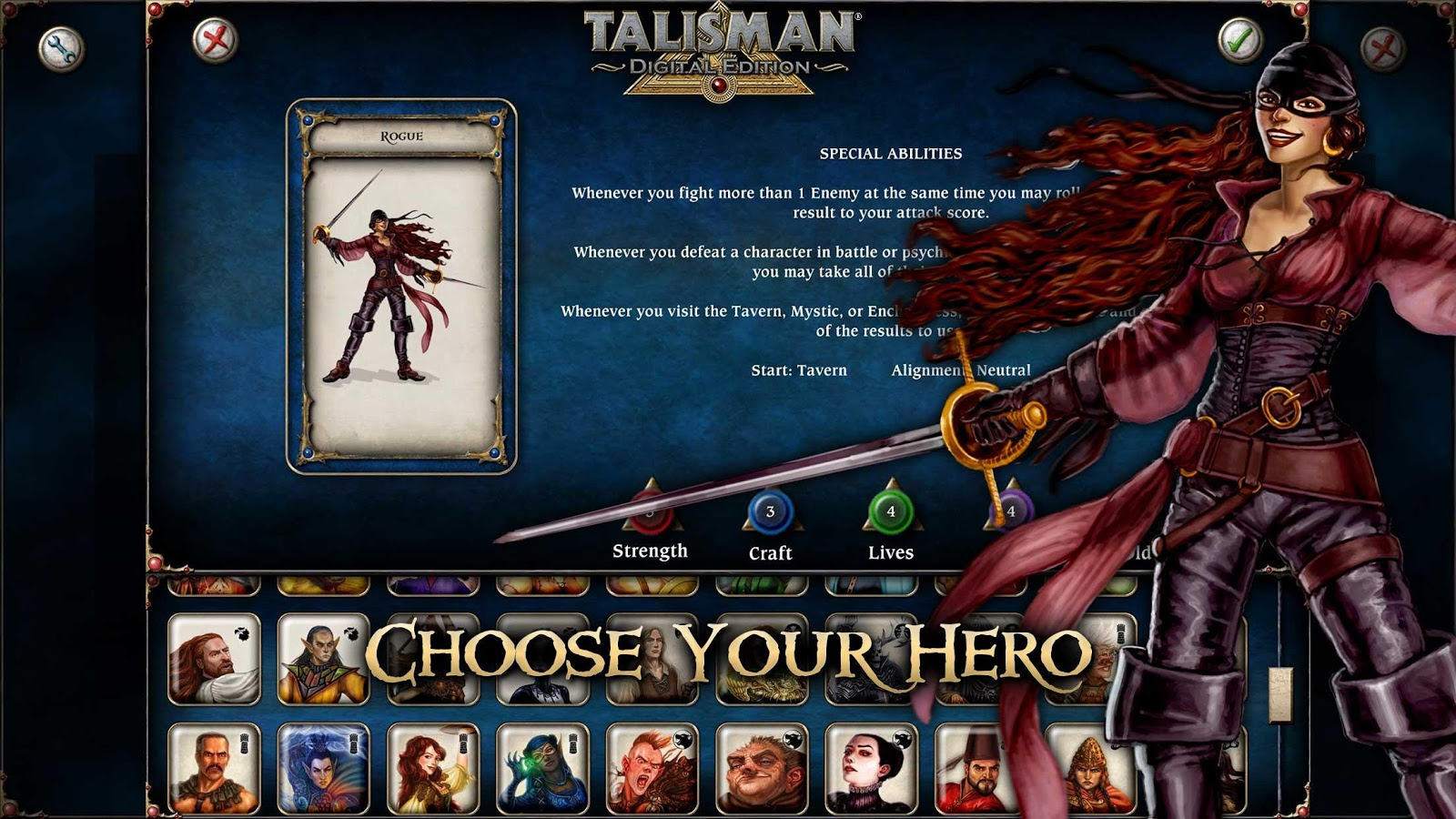 Talisman Screenshot 1
