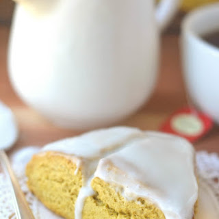 Pumpkin Cream Scones