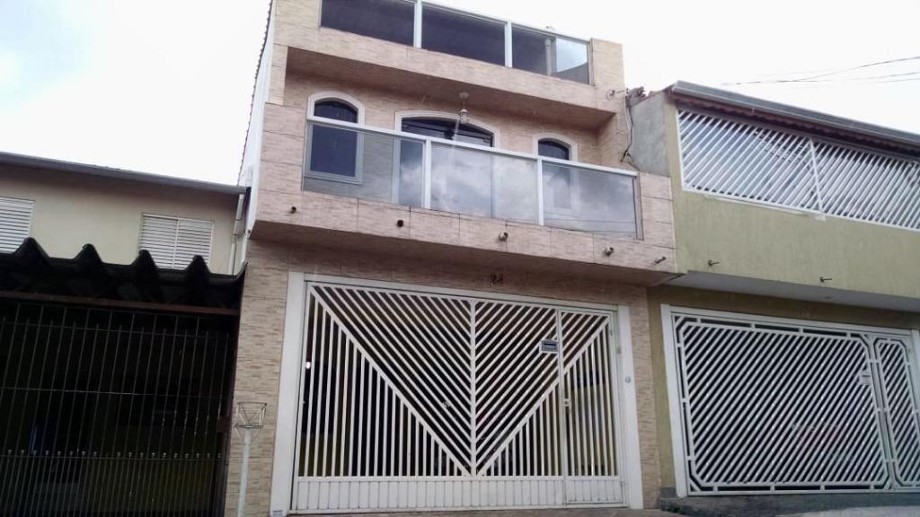 Casa, 4 Dormitórios, Suite, 2 Vagas, Metalurgicos, Osasco