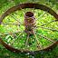 Wheel in Clover by Amanda Saxton-Jenson - Uncategorized All Uncategorized (  )