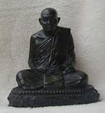 พระบูชา  หลวงปู่ทิม วัดพระขาว จ.อยุธยา รุ่นชนะจน ปี พ.ศ.2540 ขนาดประมาณ 3 นิ้ว