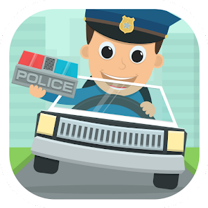 Police Kids Toy Car Game