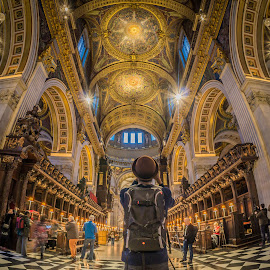 St Paul's Cathedral  by Dimitar Hristov  - Buildings & Architecture Places of Worship ( london, inside, cathedral, st paul, photography )