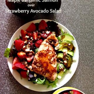 Strawberry Avocado Salad Balsamic Recipes