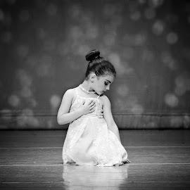 Ballerina by Darya Morreale - Babies & Children Children Candids ( dancing, little girl, ballerina, ballet, stage )