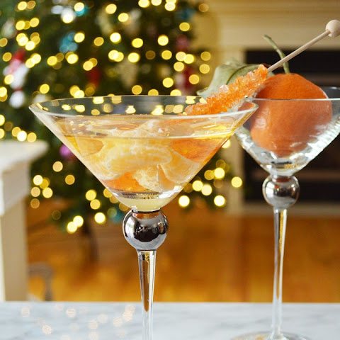 Tangerine Dream Holiday Cocktail