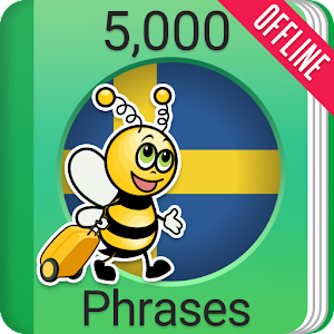 Learn Swedish Phrasebook - 5,000 Phrases