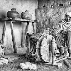 by Abdul Rehman - Black & White Street & Candid