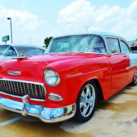 '55 Chevrolet Belair Coupe by Jim Suter - Transportation Automobiles (  )