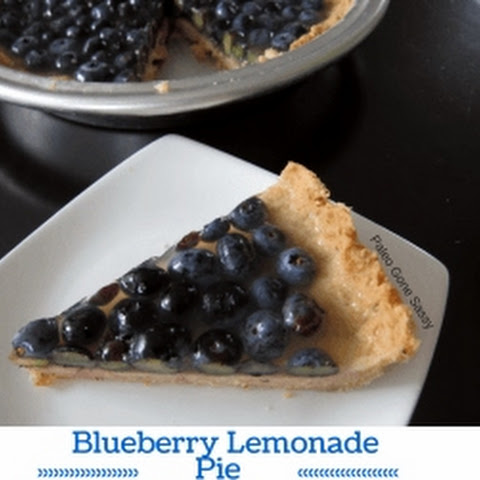 Blueberry Lemonade Pie