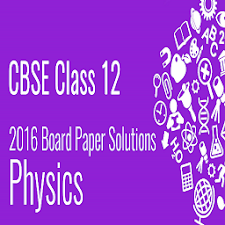 CBSE Physics-12