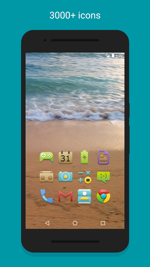 Vion - Icon Pack Screenshot 2