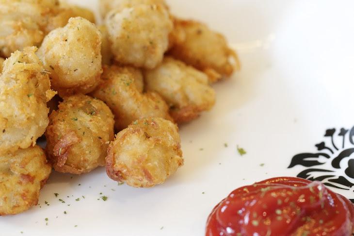 Homemade Idaho® Potato Cheesy Tater Tots Recipe | Yummly
