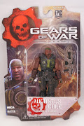 "Фигурка ""Gears of War 3 3/4"" Series 2 - Augustus Cole /5шт"