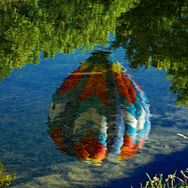 Balloon reflection by Victor Orazi - Artistic Objects Other Objects