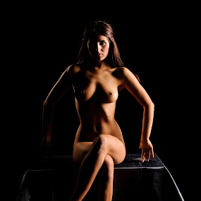 Half and Half by Tony Wadham - Nudes & Boudoir Artistic Nude