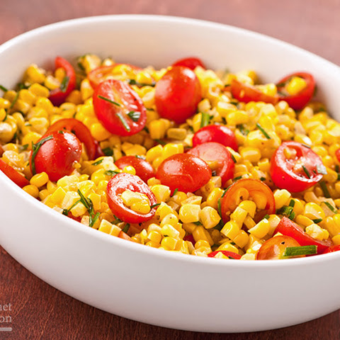 Sweet Corn Salad Dressing Sweet Corn And Tomato Salad