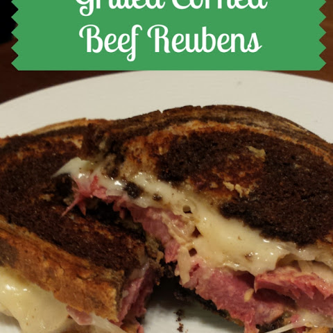 Grilled Corned Beef Reubens
