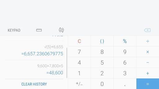 Samsung Calculator screenshot 4