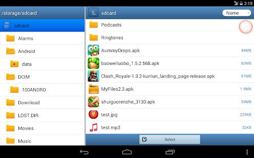 App MyFiles APK for Windows Phone