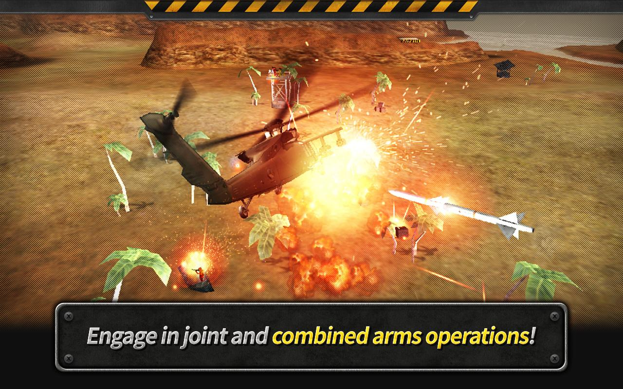 GUNSHIP BATTLE : Helicopter 3D Screenshot 3